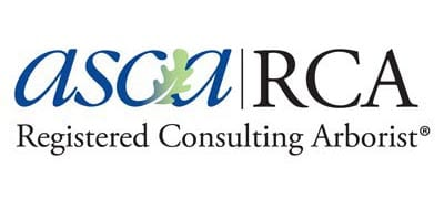 Registered Consulting Arborist, RCA #483, American Society of Consulting Arborists.